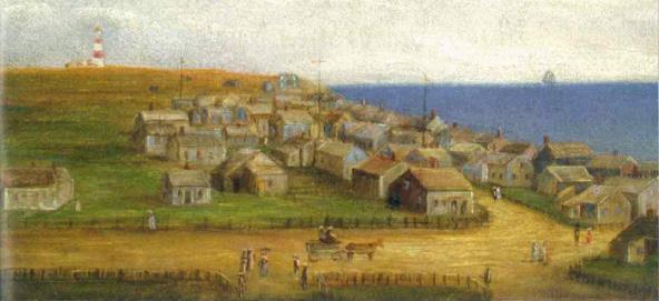 View of Sconset. Rev. L.W. Bostwick, 1879. ©https://www.nantucketpreservation.org
