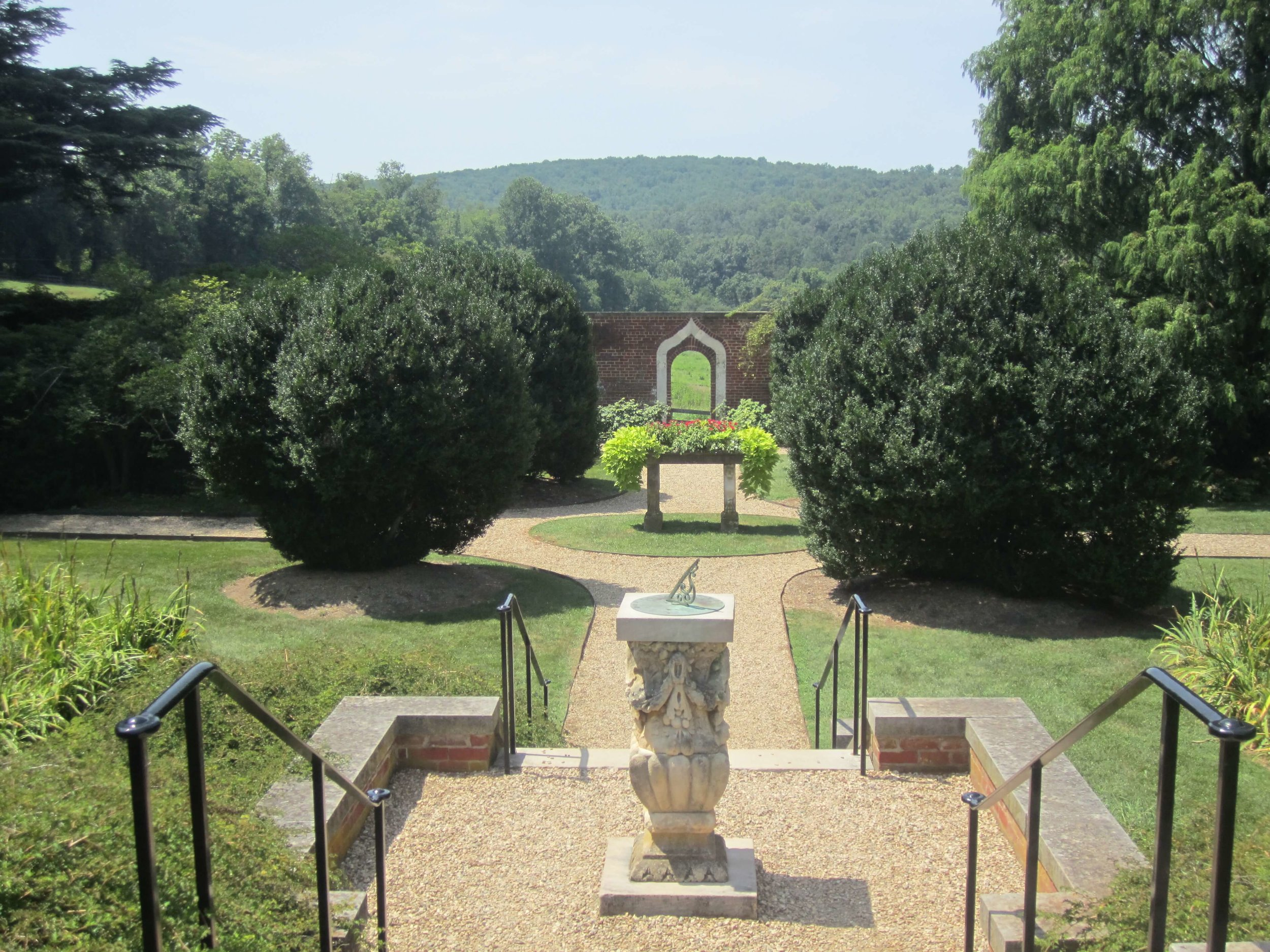 Photo ©Billy Hathorn, Entrance to the Gardens at Montpelier.
