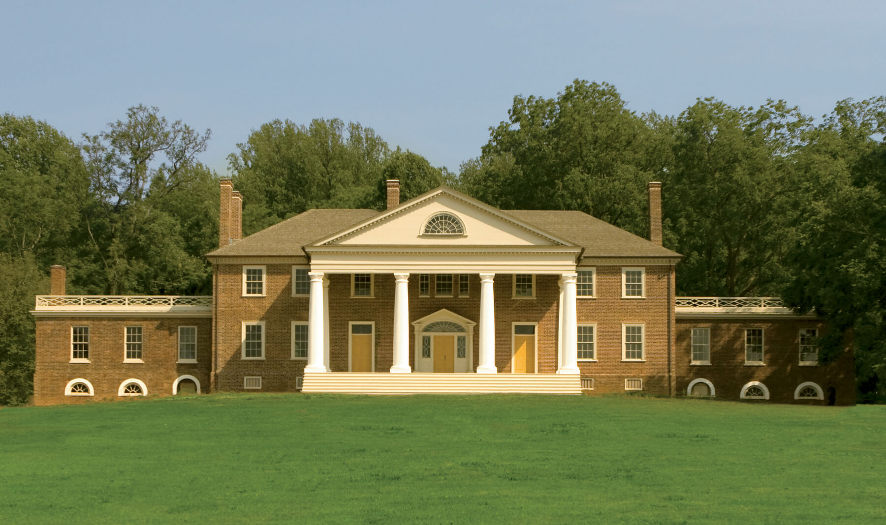 James Madison's Montpelier. Federal Highway Admin, DOT. Public Domain.