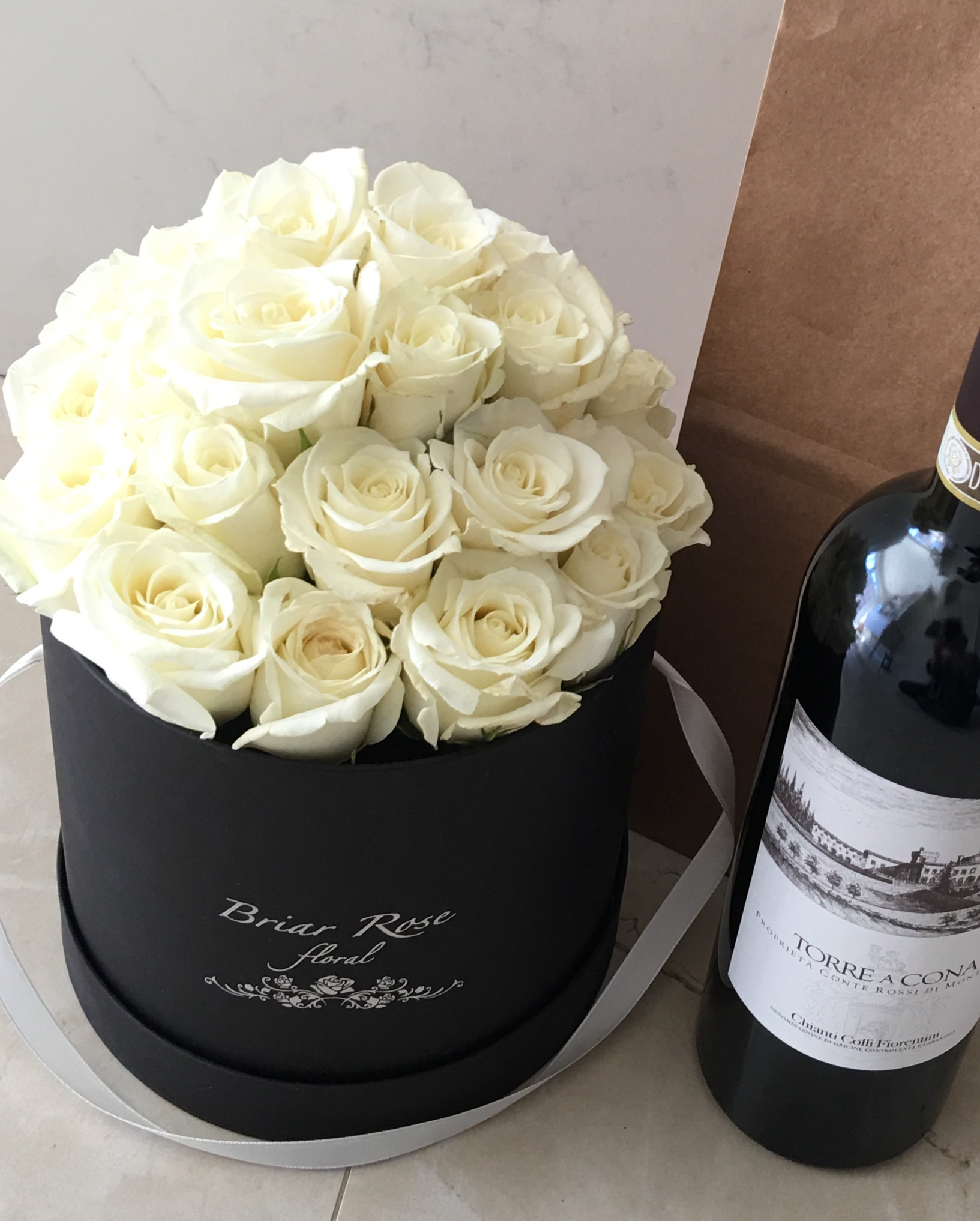 Signature floral box - Briar Rose floral box perfect for all occasion's