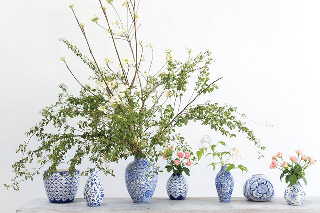 Vessel - An assortment of vases, pots, bowls, baskets and so much more. To suite your occasion.