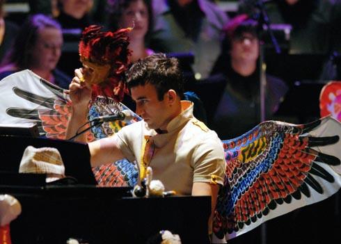 In Concert with Sufjan Stevens, Zellerbach Auditorium (October 2006)