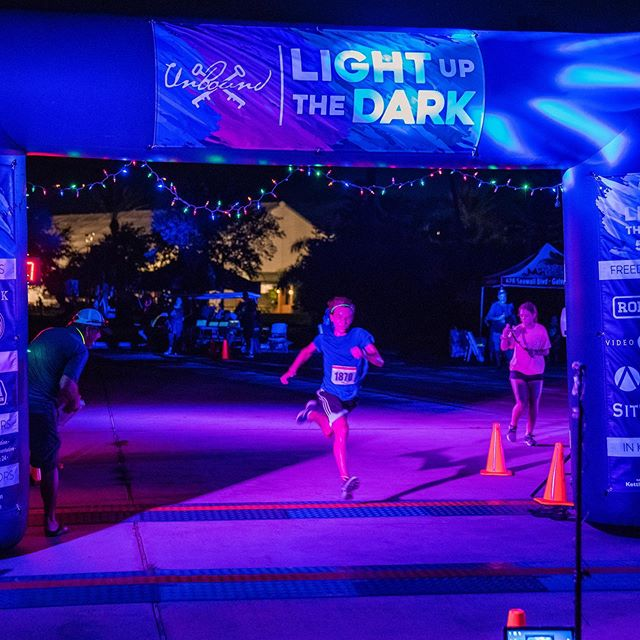 You better run! 🏃🏽‍♂️ Early Bird Pricing ends TONIGHT (8/31/19)! Register today at the link in our bio to score the best price for you and your family! #lightupthedark2019