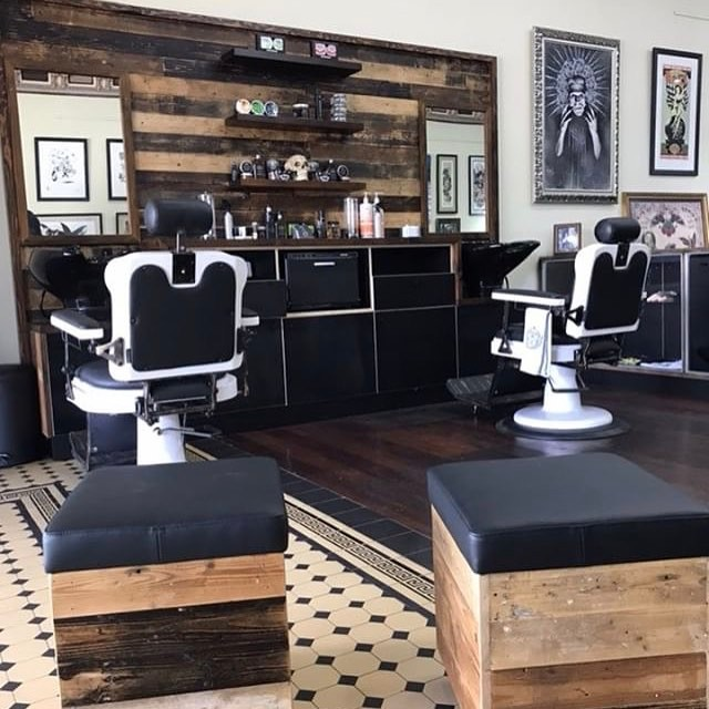 Brand new barber station is part of the new fit out we've done for @soulexpressiontattoo