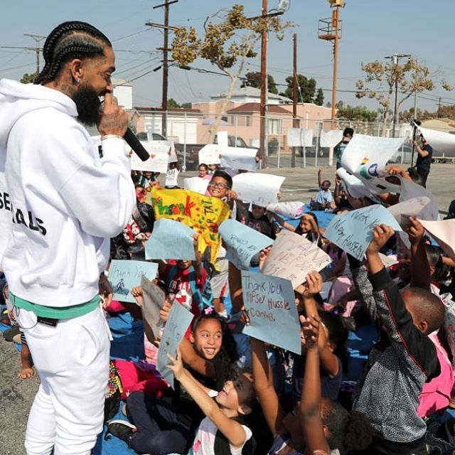 Thank you for all that you were and will continue to be. Well done, @nipseyhussle! Your legacy will live on forever. 🙏🏽💔🏁 #TheMarathonContinues #NipseyHussle