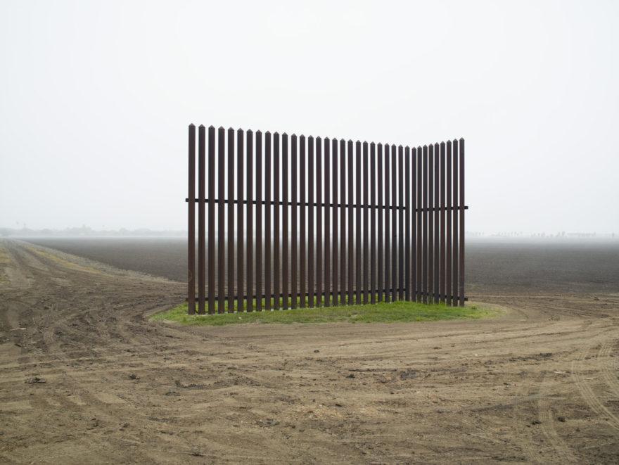 "Richard Misrach, ""Wall, Near Los Indios, Texas"" (2015)"