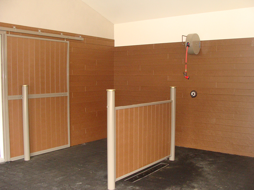 Wash Stall Island Partition