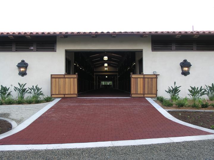 Rubber flooring at barn entrance.jpg