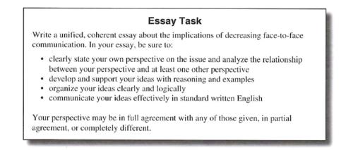 Act writing essay marketing dissertation examples