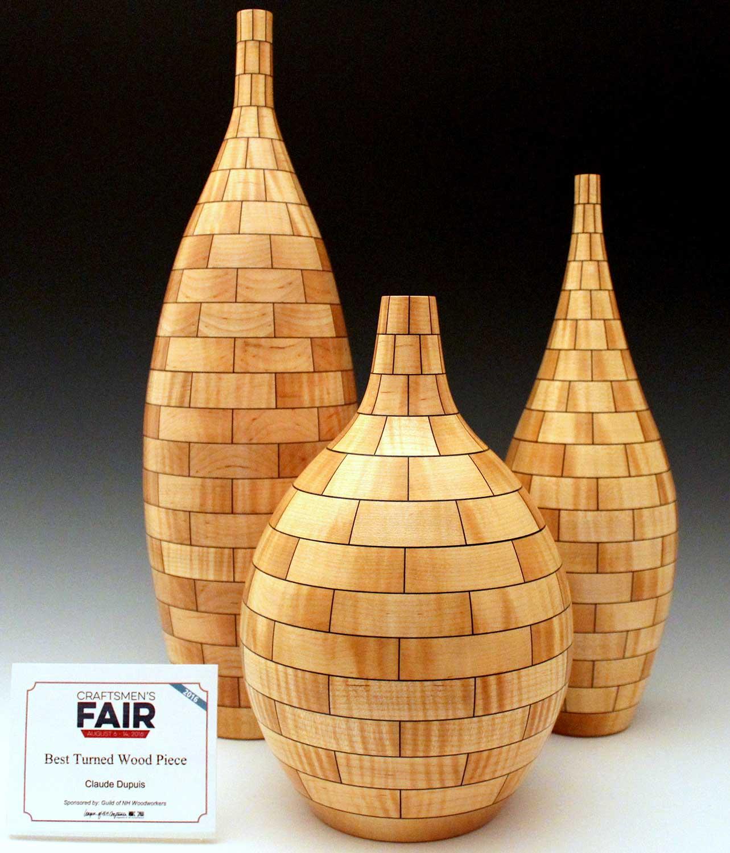 Three Vase Set -