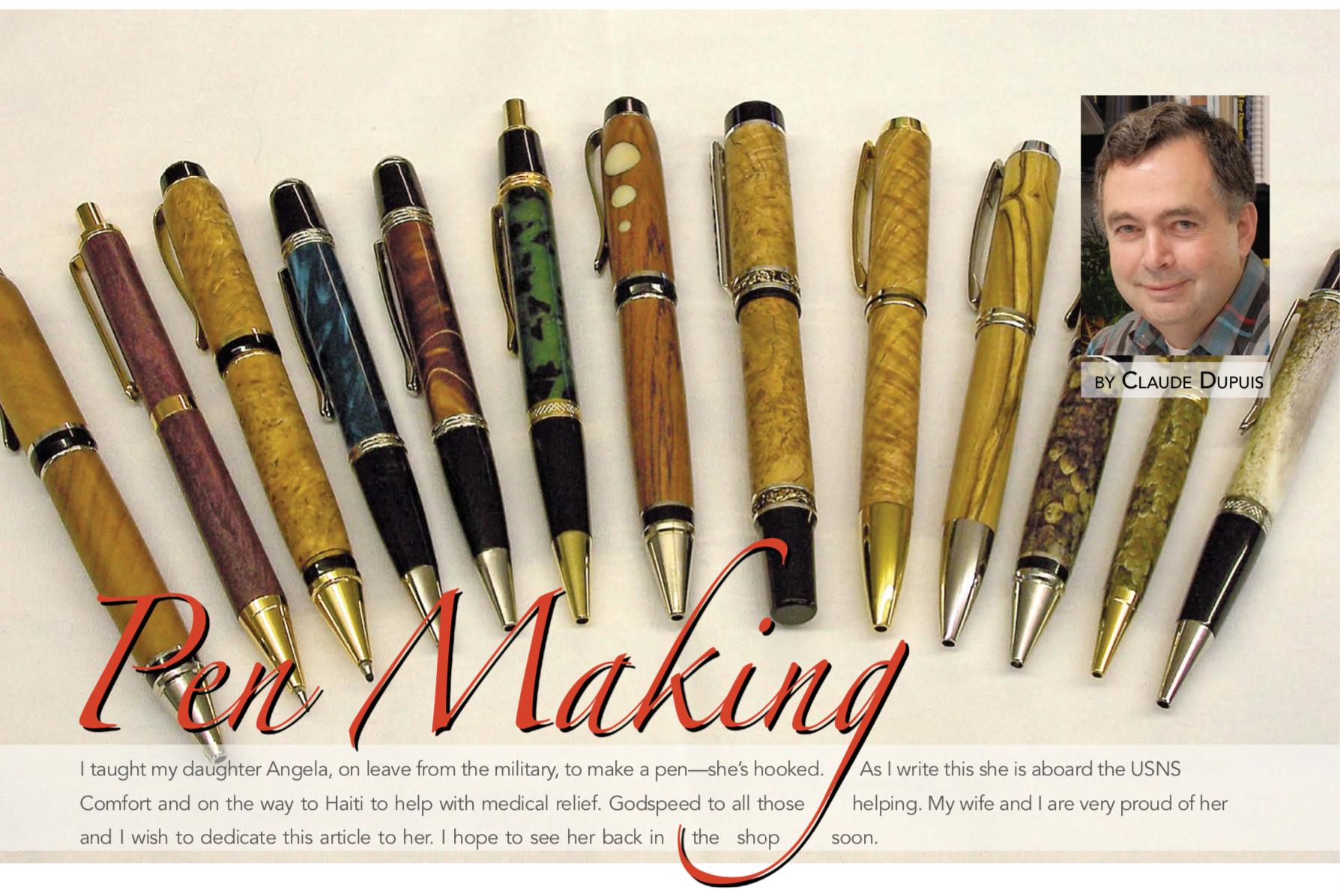 Pen Making -