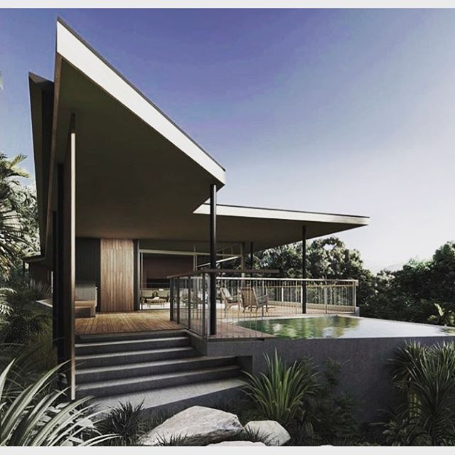 Looking forward to this striking new build at Broken Head. Starting soon so stay stuned. . . . #byronbay #byronbaybuilder #brokenhead #beach #house #lodge #eco #architecture #design #style #sharp #building #carpentry