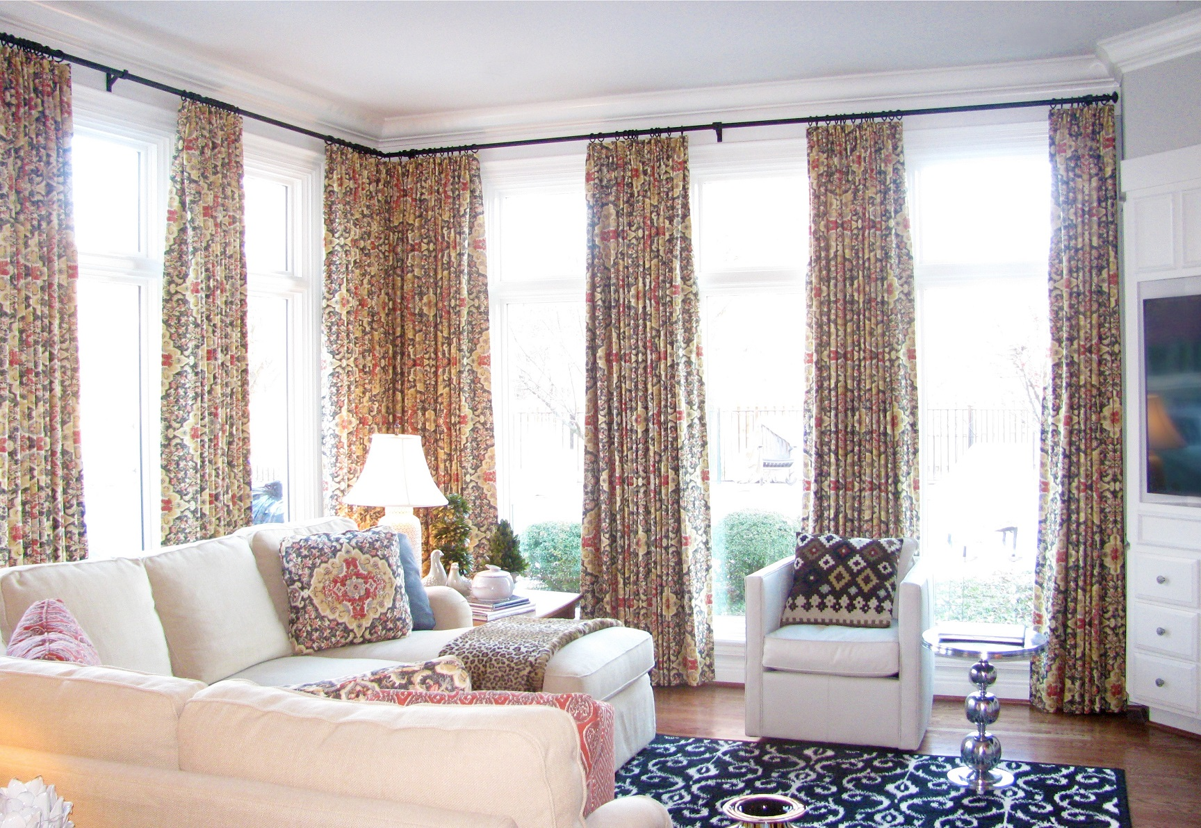 custom window treatments drapery roman shades valances slip covers northwest arkansas 3.jpg