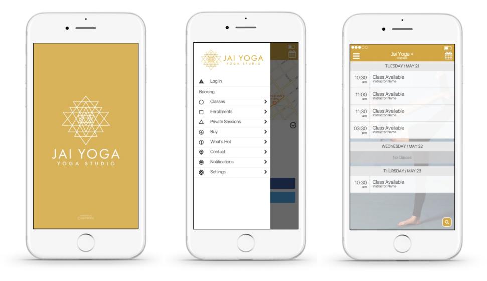 Access the Jai Yoga Studio schedule, book classes & more! -