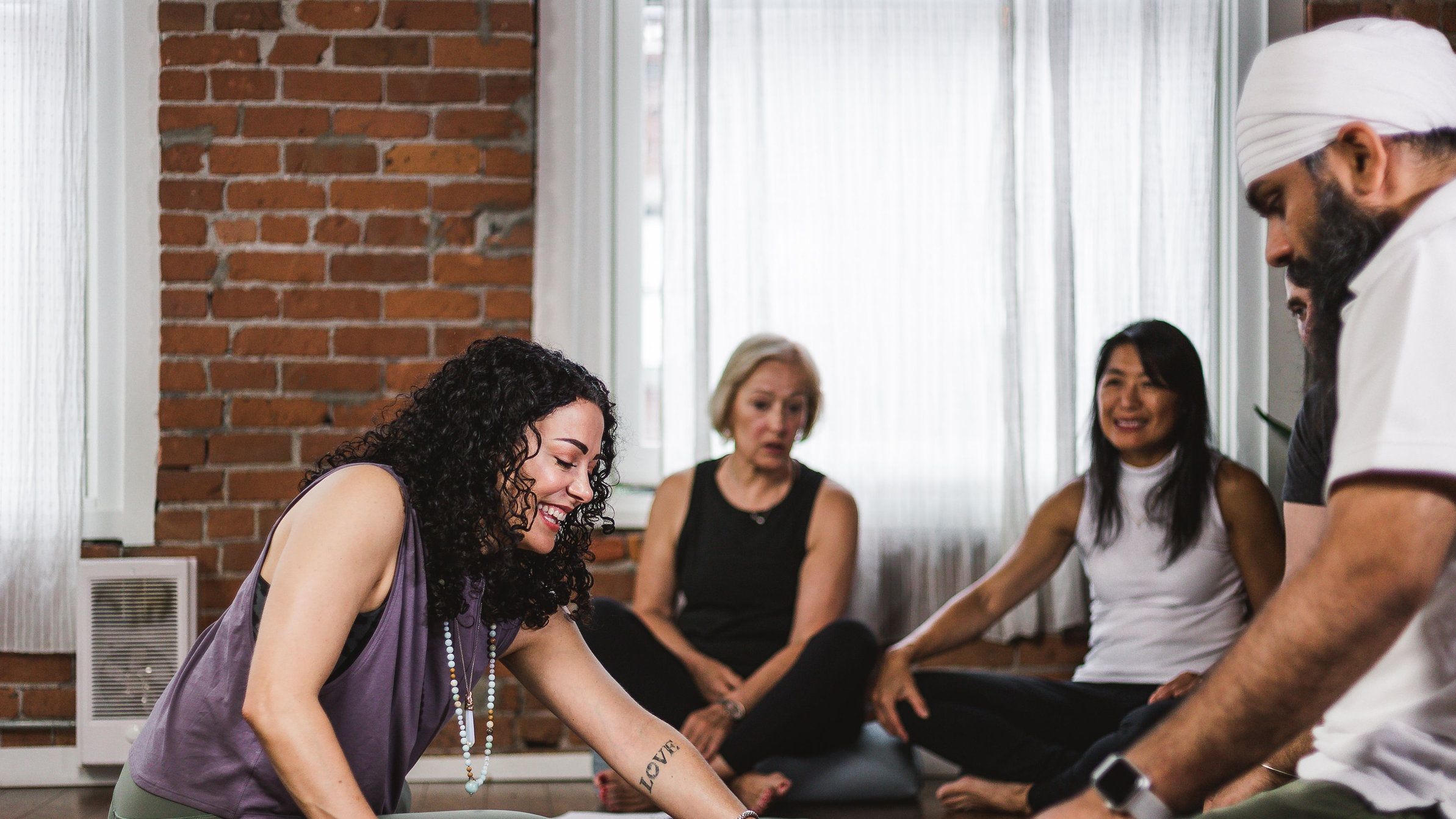 Kindness, acceptance and integrity are the roots of our studio's community - When you walk in through our doors, you will always be greeted with a smile. When you practice yoga with us, you will always be cared for by our experience instructors. Your comfort and happiness is our number one priority at Jai yoga studio.