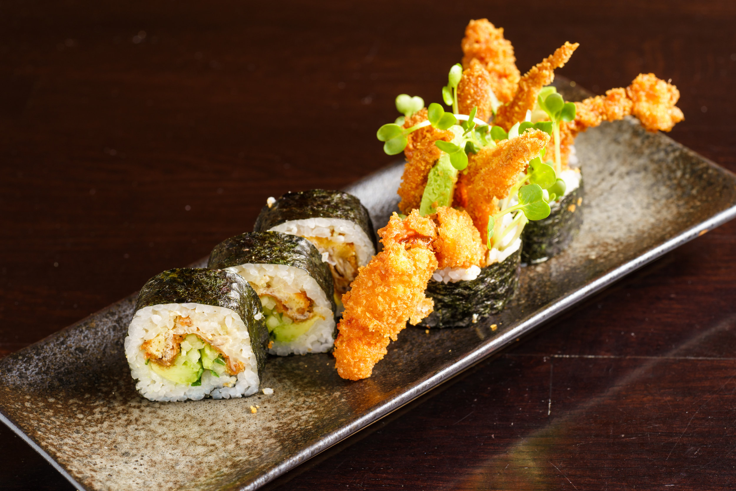 Fried Soft Shell Crab Roll