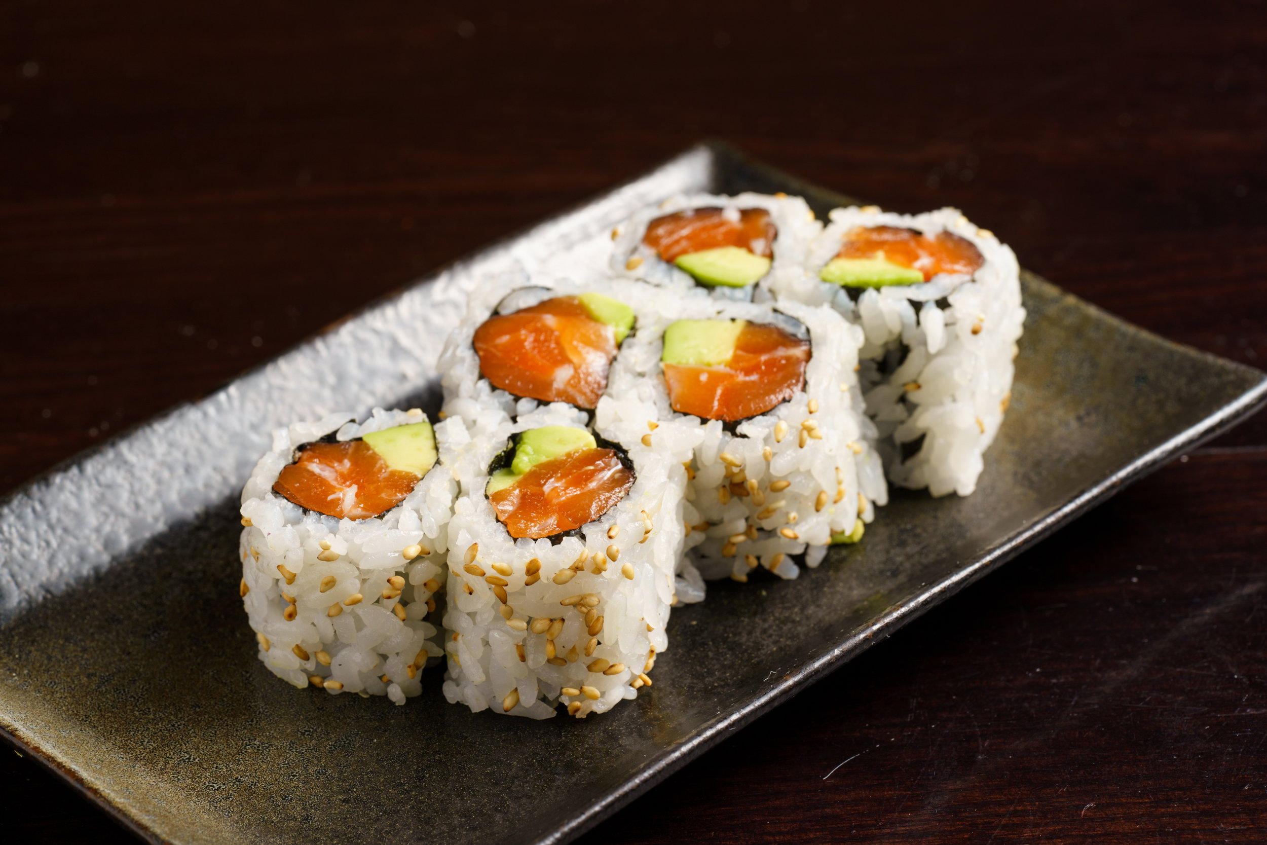 Maki and Avocado Roll
