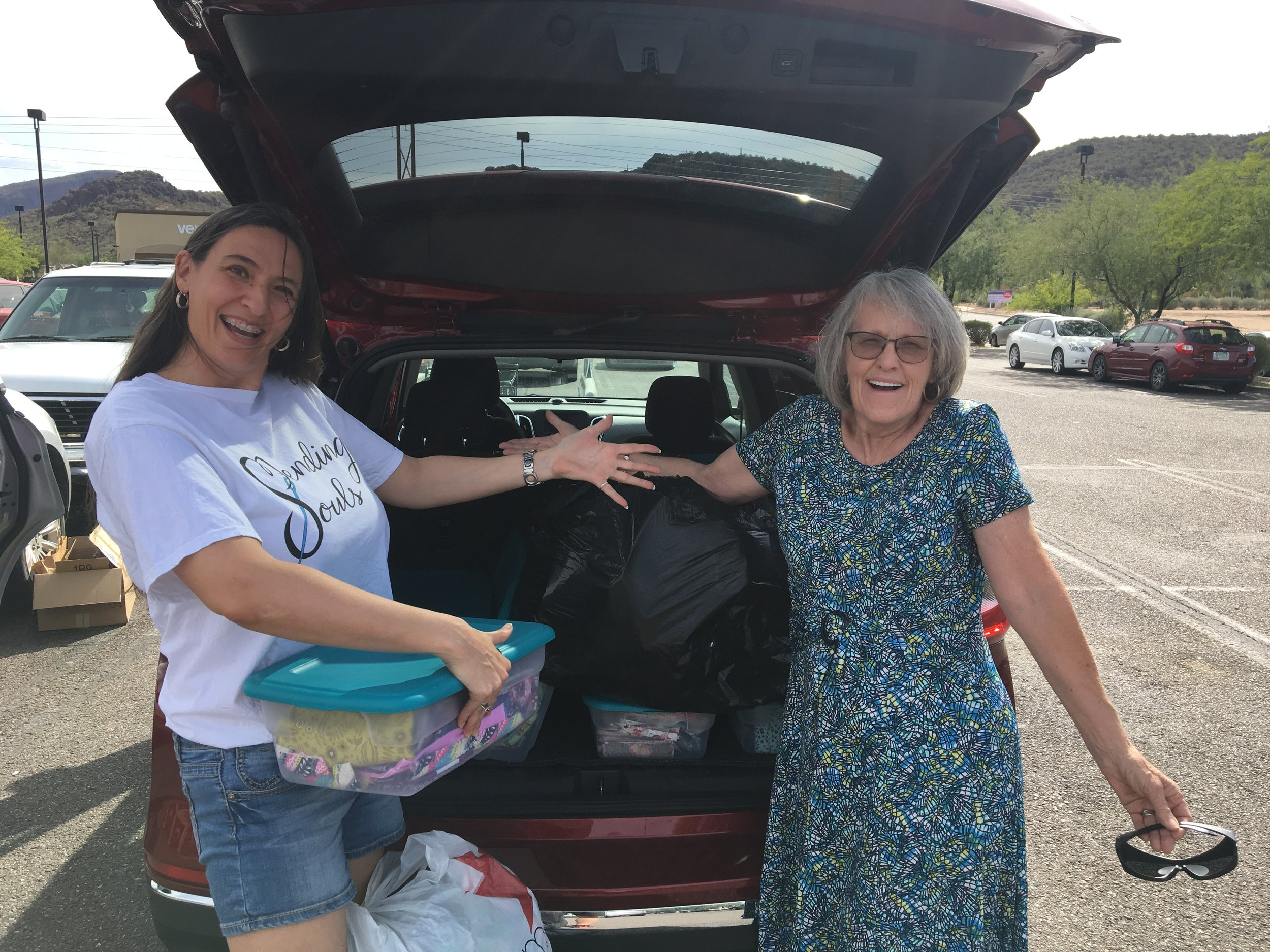 IMG_3764 Mary and Barbara donation July 19.JPG