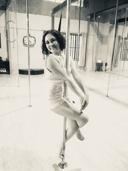 Pole Dancing Like Bridget Jones- Stripperella would be proud!