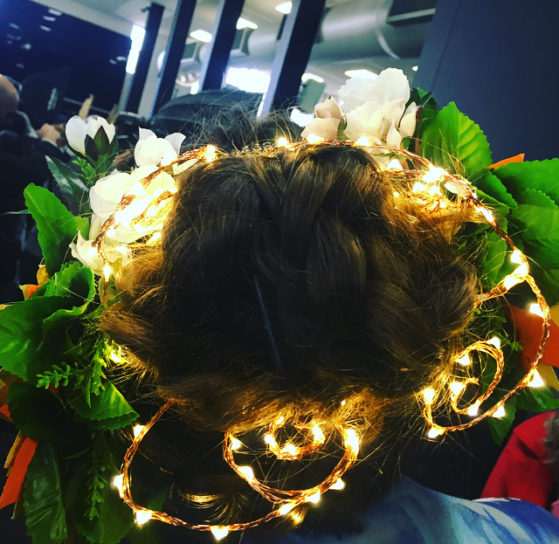 Perth Hair and Makeup Artist Awards- I need this light up crown in my life!