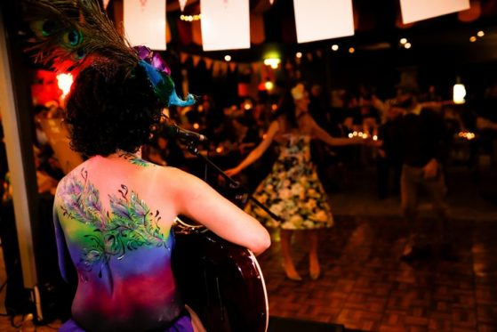 Body art. Swingers! And by that I mean swing dancers from Simply Swing! Photo by Zoe Jay at Viva! Life Photography.