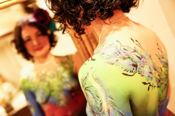 Body art. Hey you, your boobs look freaking awesome today! Photo by Zoe Jay at Viva! Life Photography.