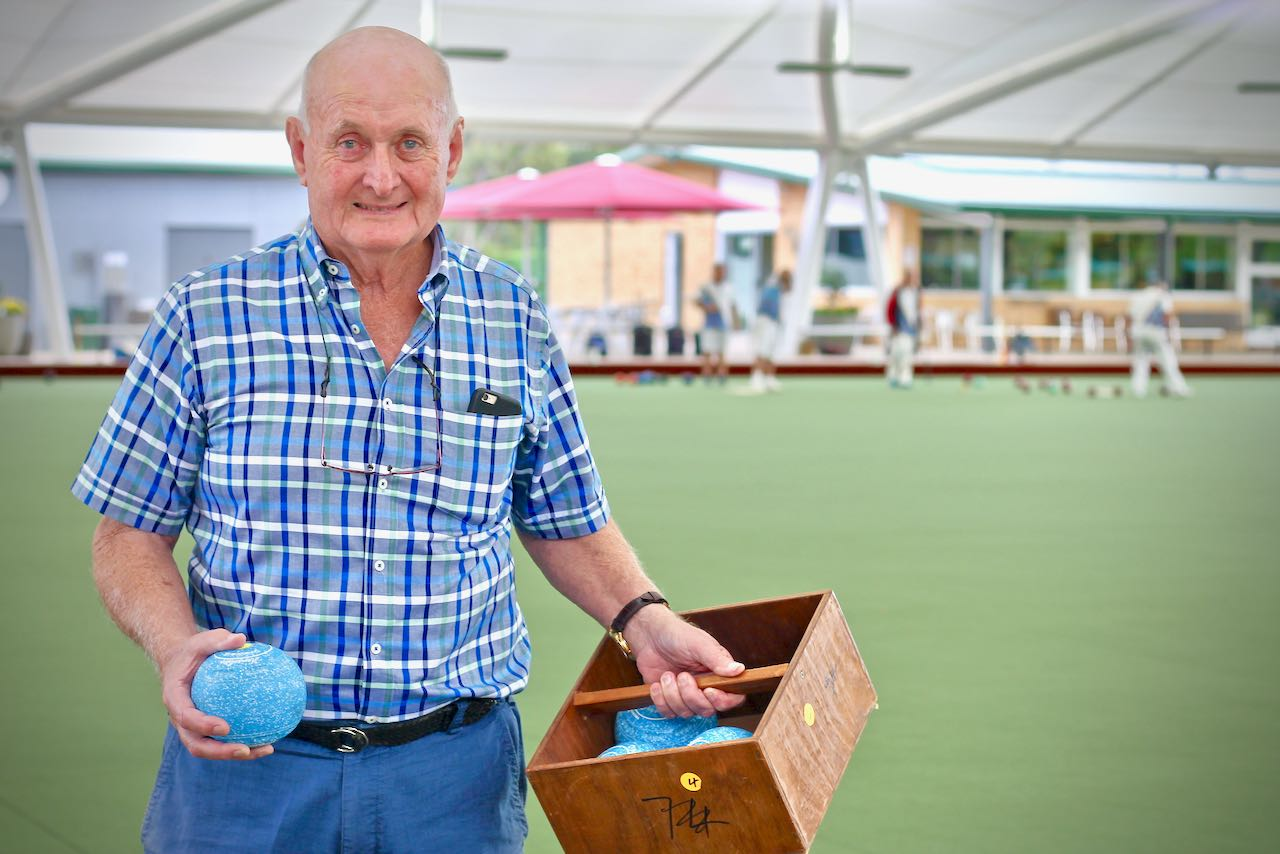 Northern Suburbs Bowls Club Project Manager Cam Spencer.