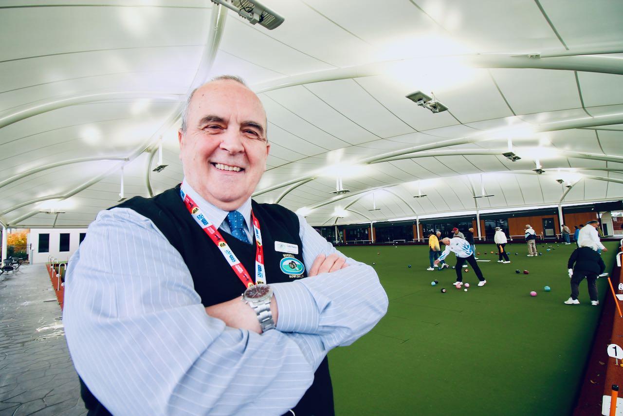 Colin Pearce, CEO, Morwell Bowls Club, Victoria.