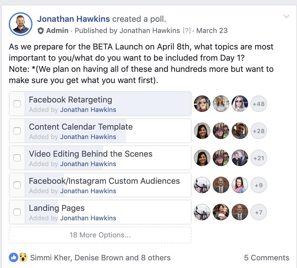 Facebook Screenshare