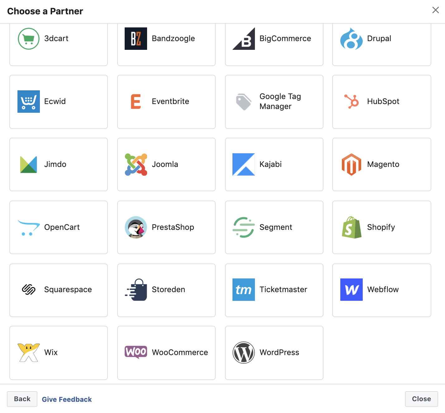 Partner Platforms