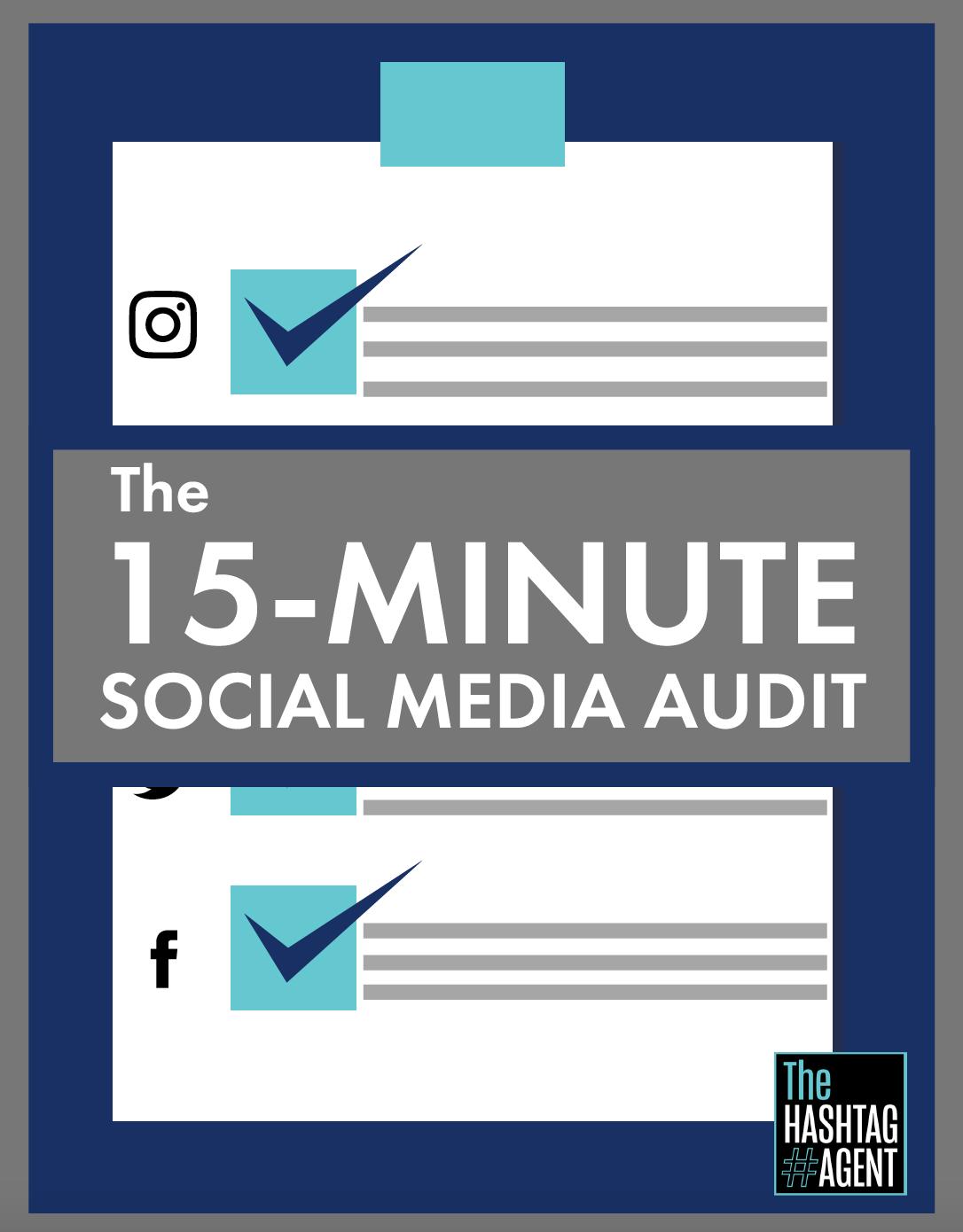 15 Minute Social Media Audit