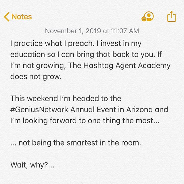 Practice what you preach or you're just like everyone else. If you could be surrounded by the best marketers in the world, what would YOU ask? ($100 Venmo to the best comment below)