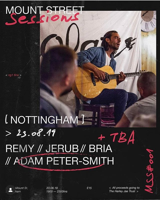 I'm happy to announce I'll be playing a beautiful intimate gig tomorrow evening at @mountstreetstudios along side with @remycb_music @briabuxton and Jerub. Music starts at 7pm. Let's make it a great night!  #music #sessionmusician #gig #art #guitar #musicstudio #nottingham #nusic #musiclife #acoustic #eastmidlands #unsignedartist #london #musicperformance #livemusic