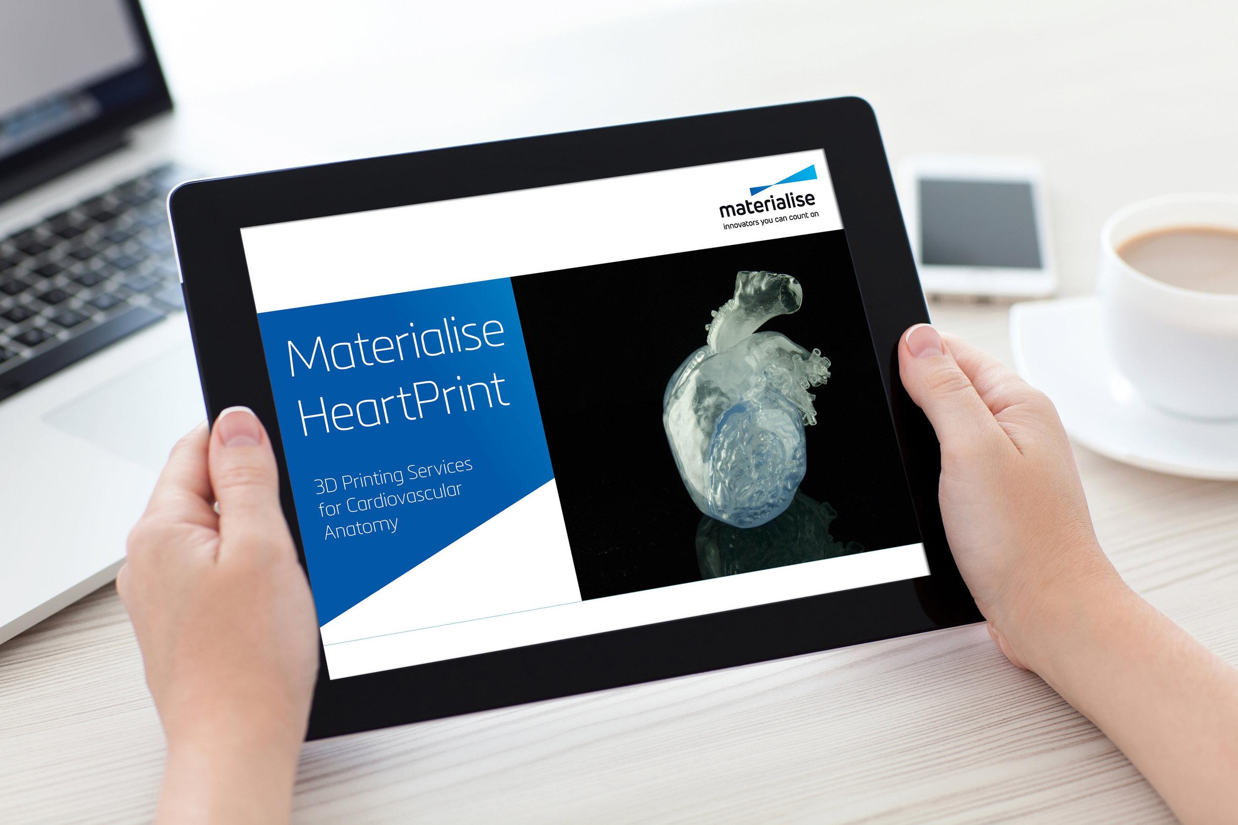 Materialise HeartPrint Catalogue - interactieve PDF