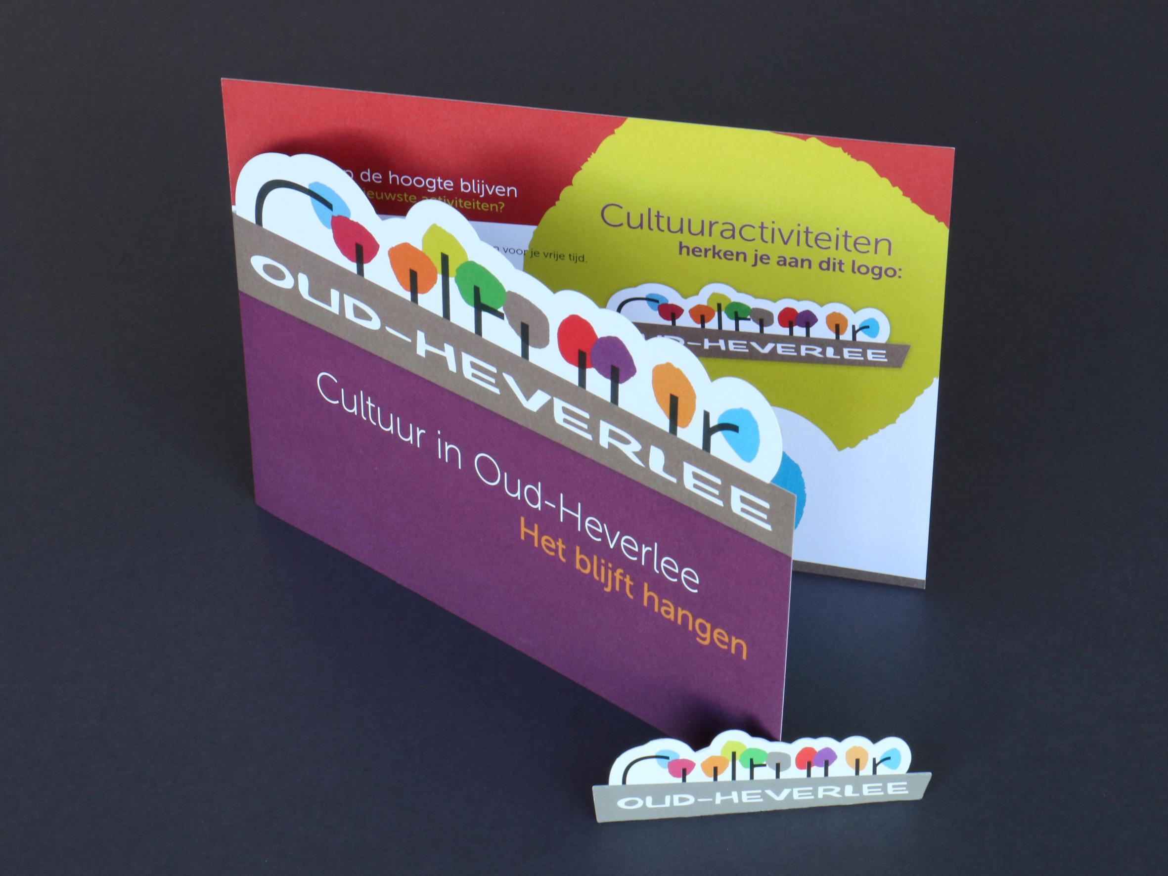 Promotiefolder & magneet Cultuurlogo Oud-Heverlee