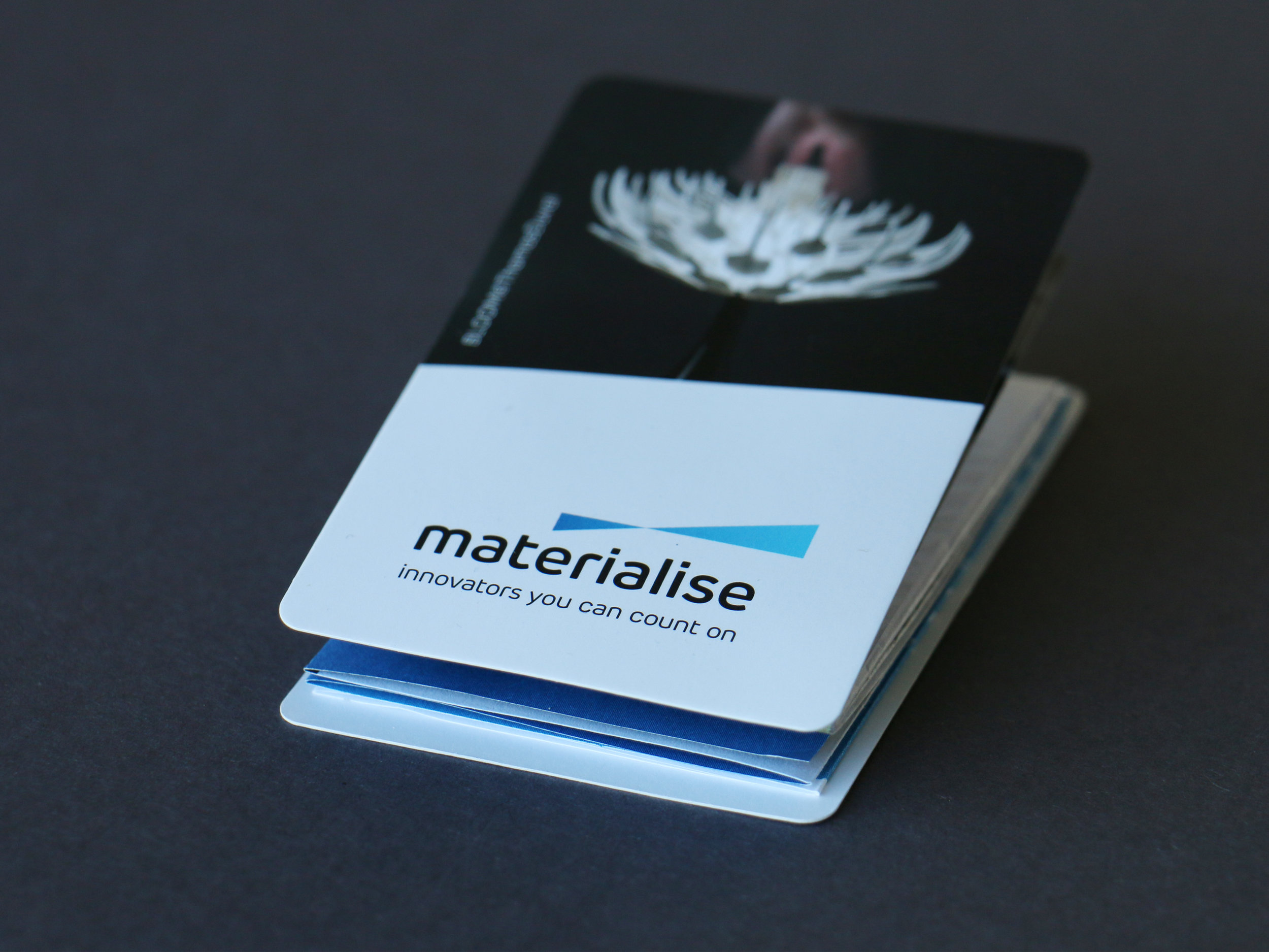 Materialise Recruitment vouwkaart