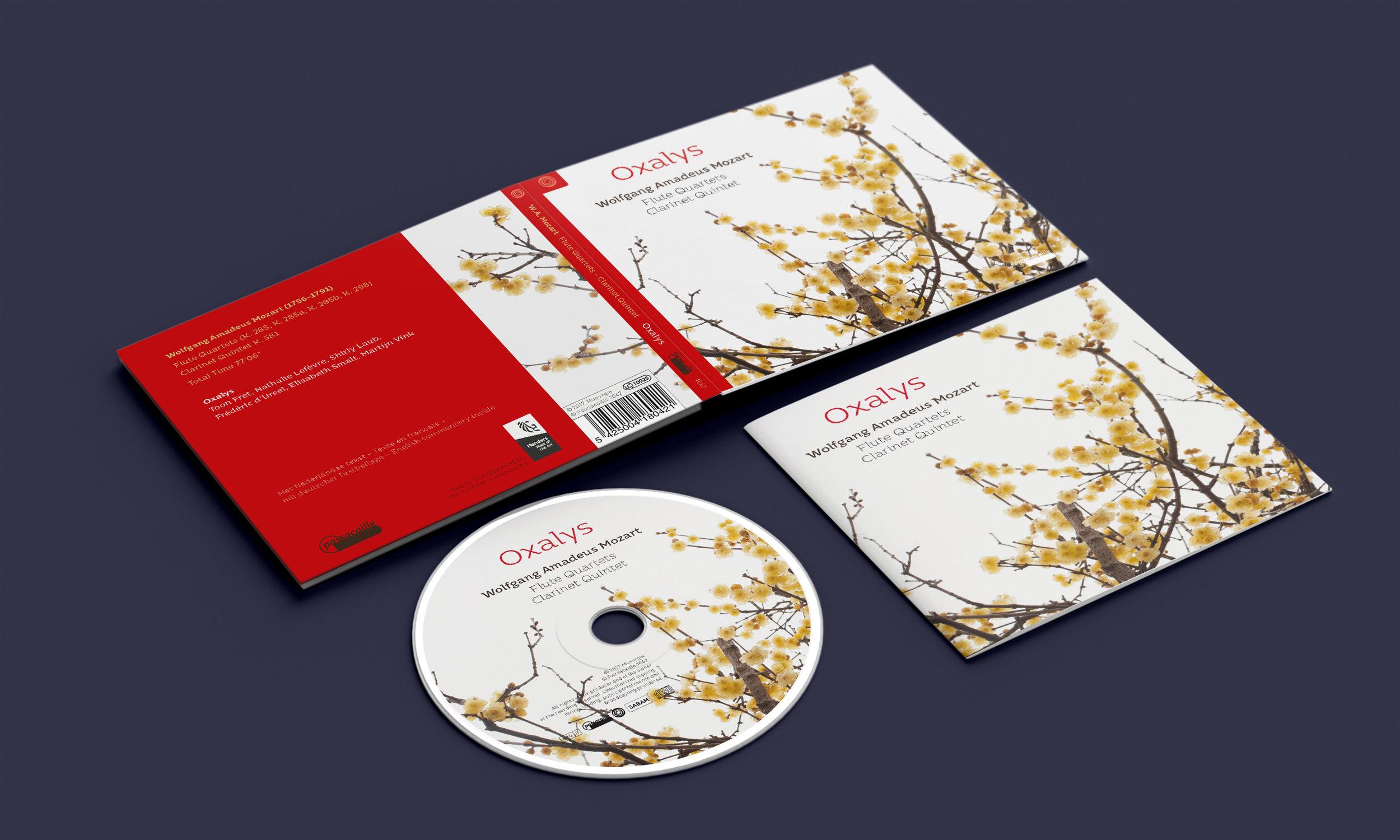 CD-digipack 'Wolfgang Amadeus Mozart'