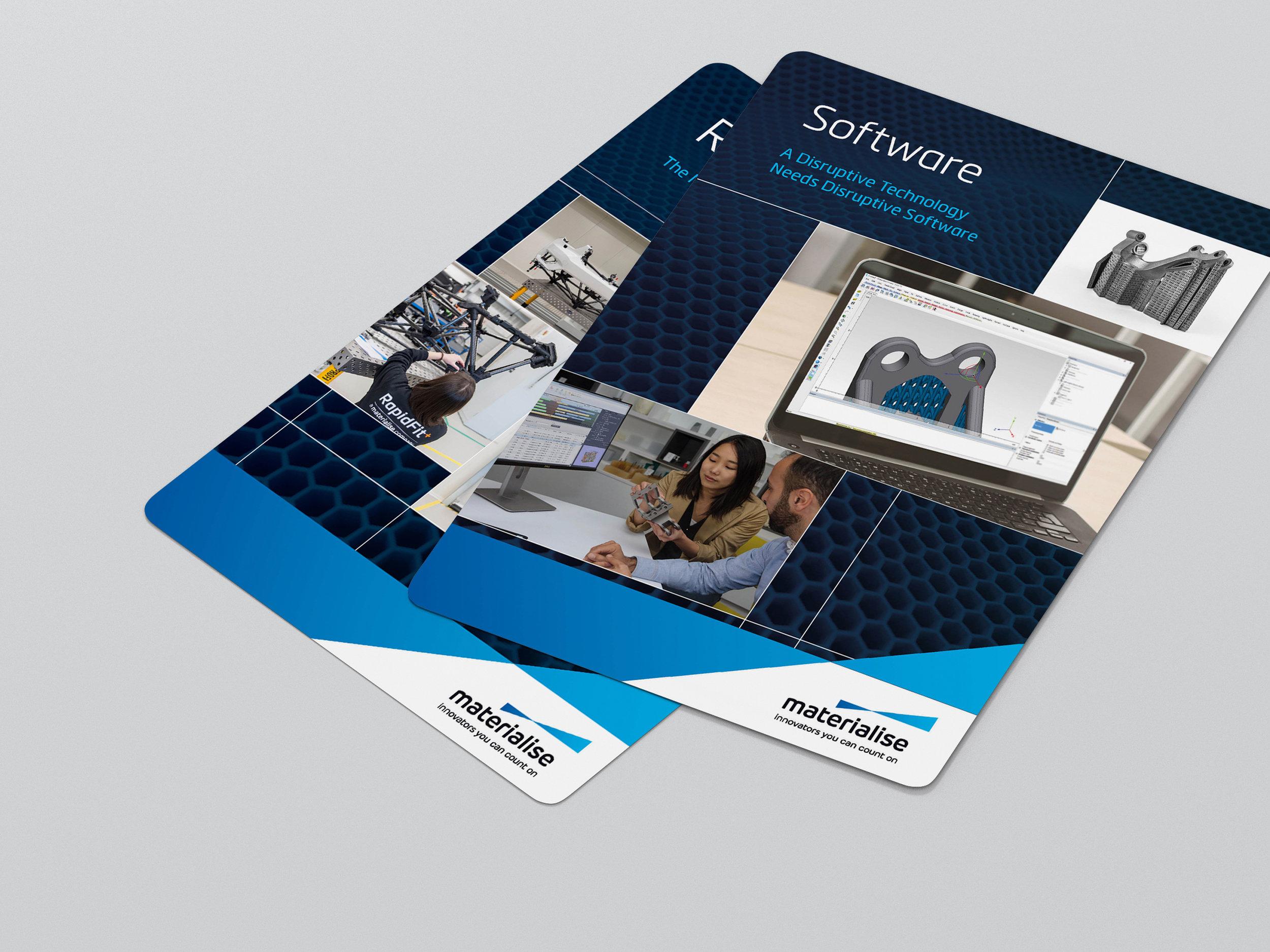 Materialise Bedrijfspresentatie-kaarten