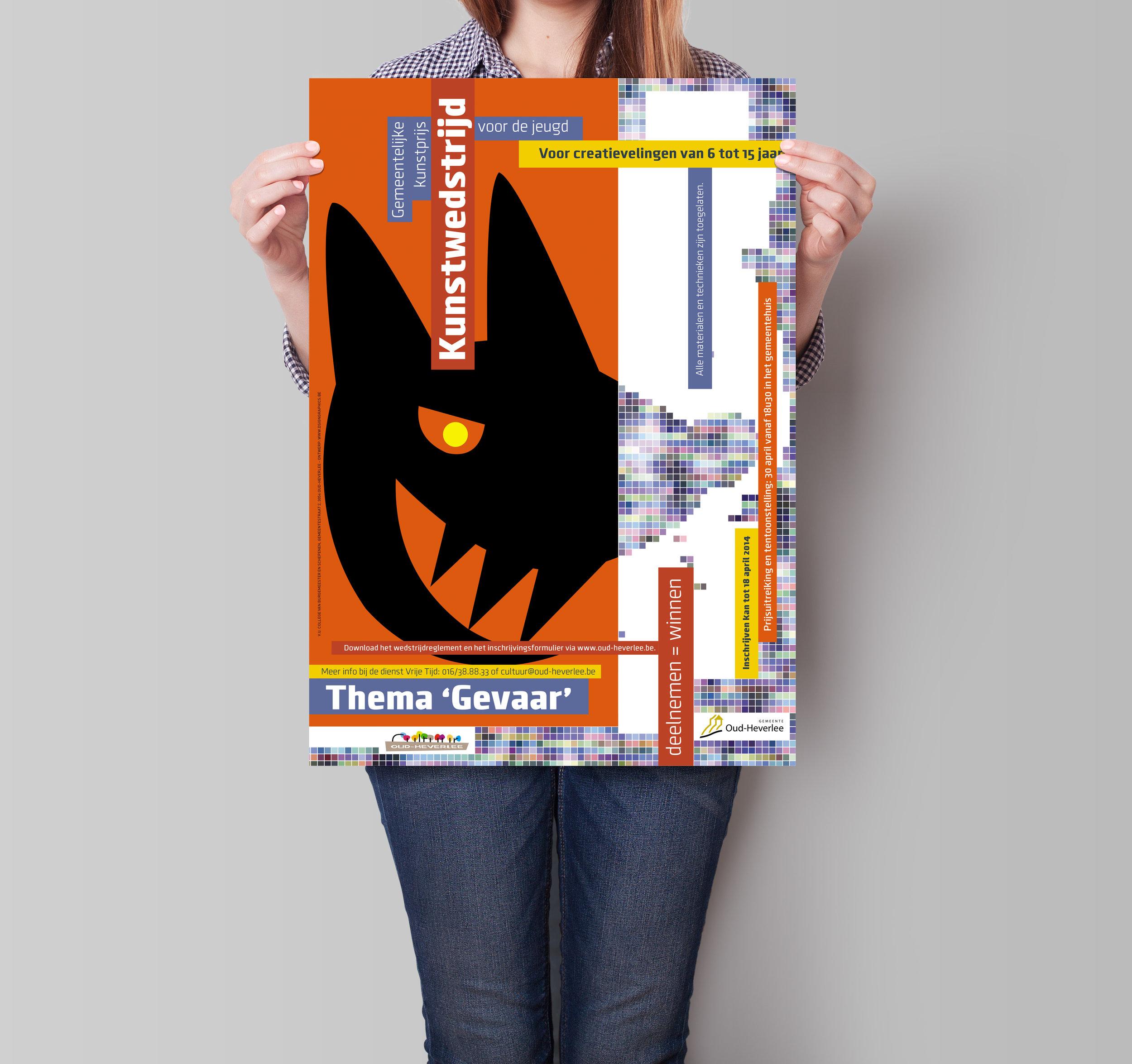 Affiche 'Kunstprijs voor de jeugd'