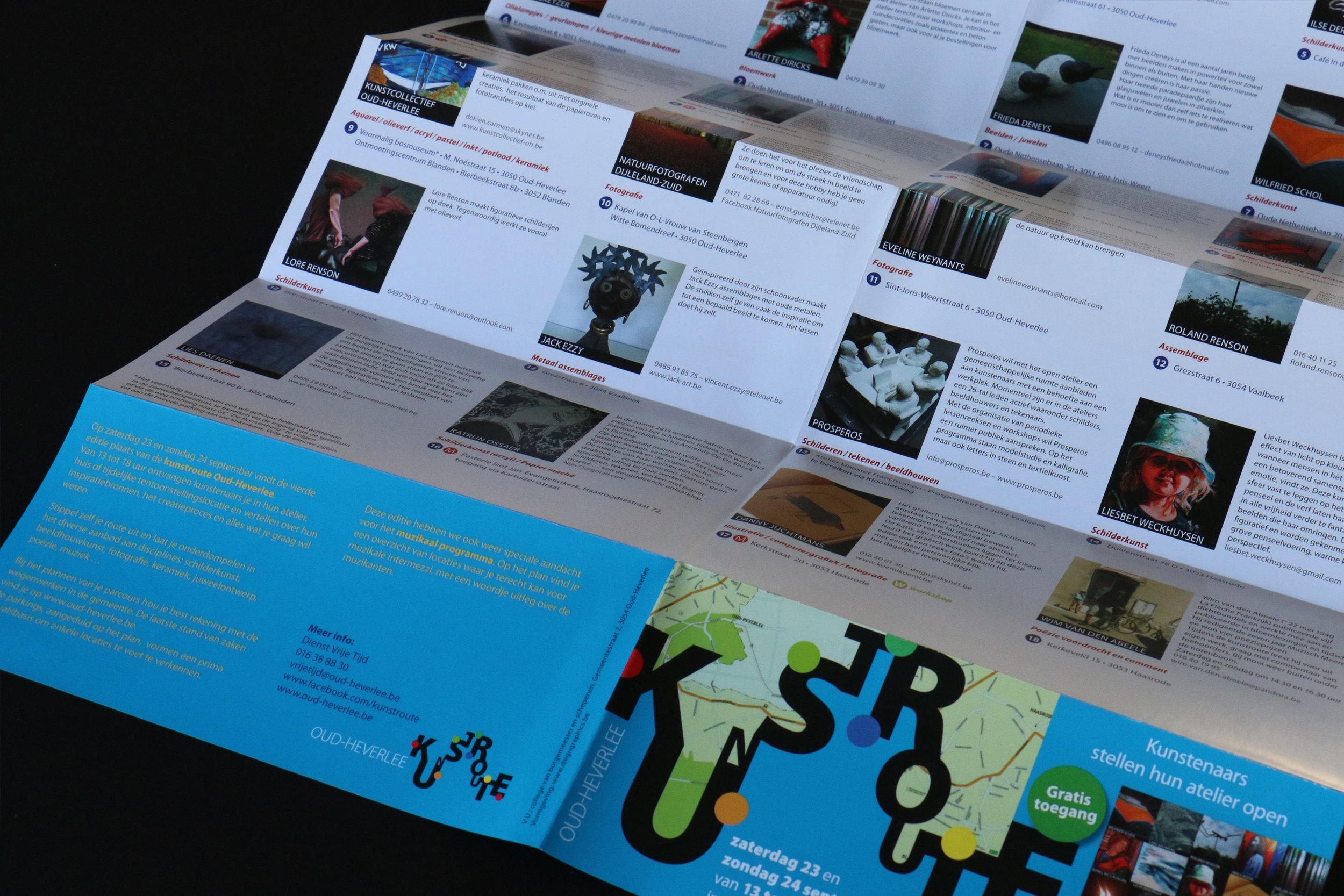 Folder 'Oud-Heverlee Kunstroute'