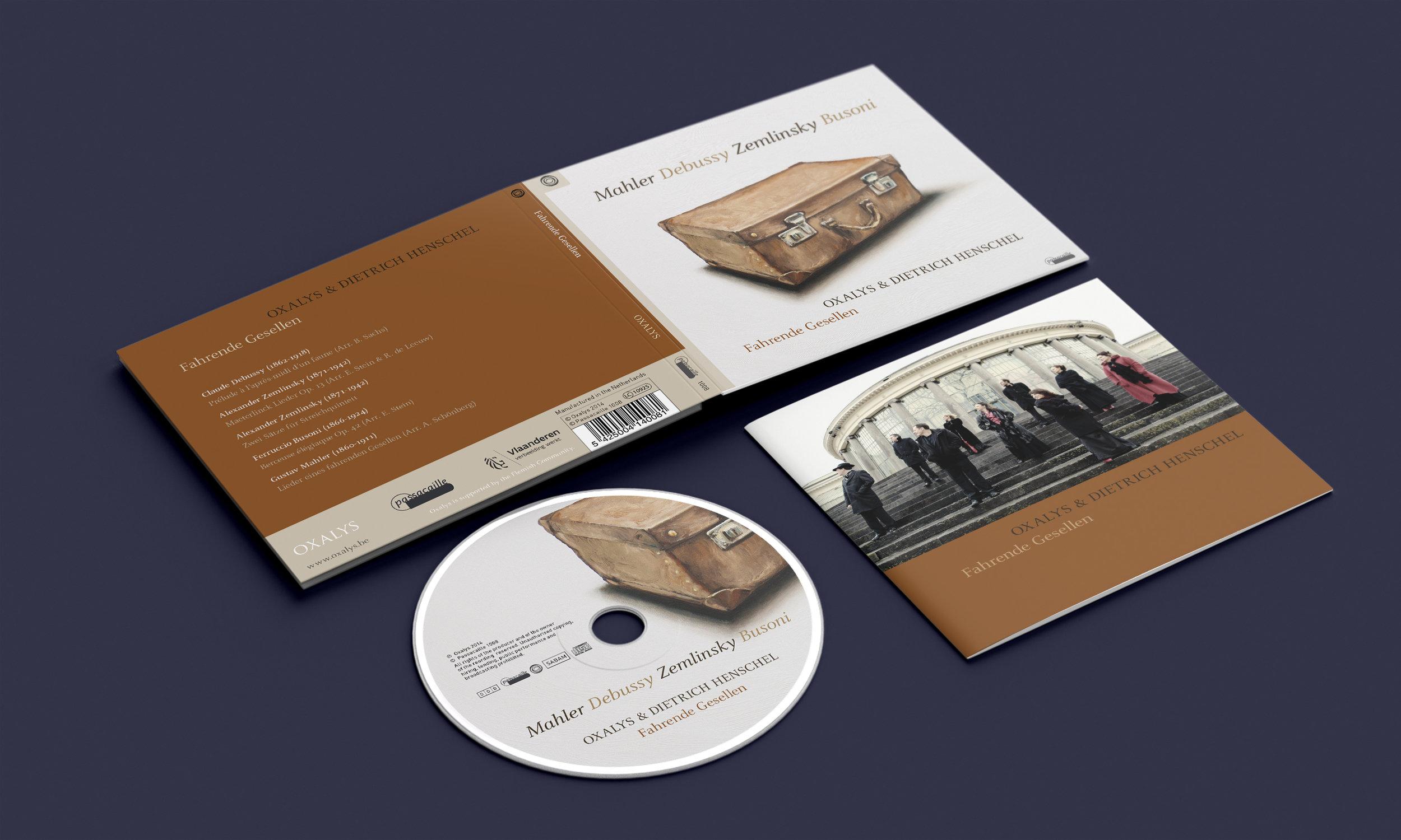 CD-digipack 'Fahrende Gesellen'