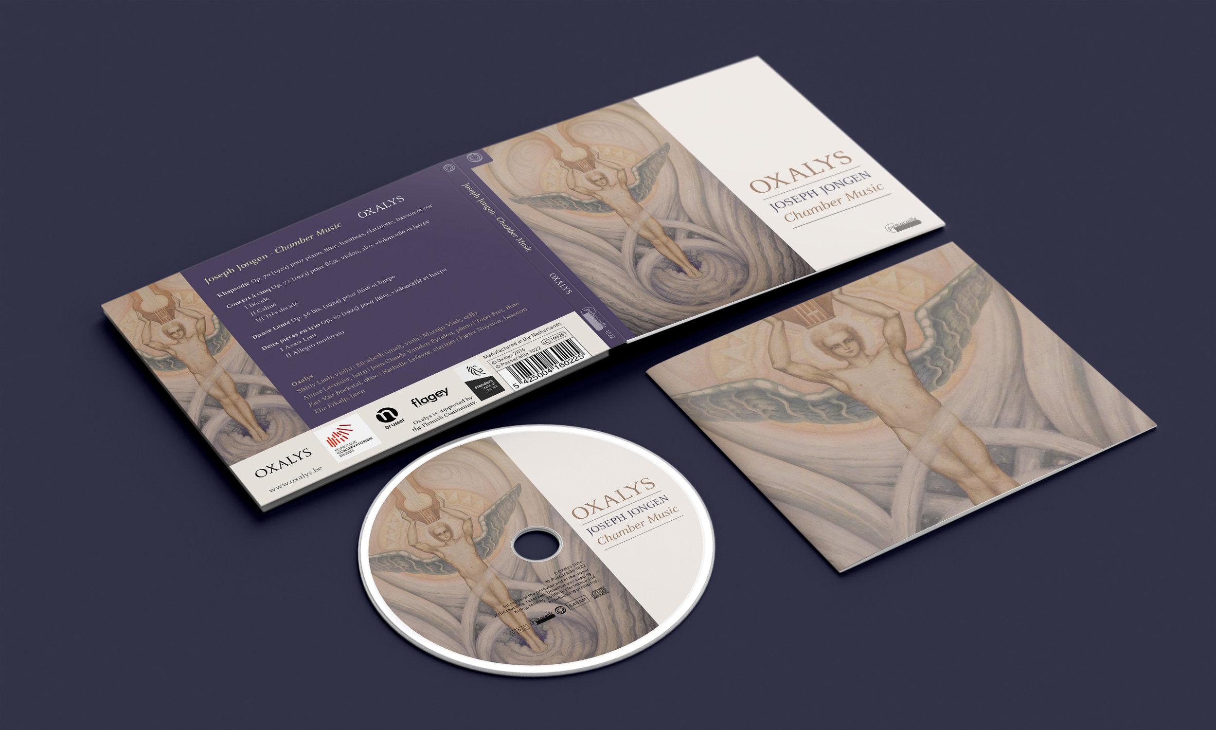 CD-digipack 'Joseph Jongen'