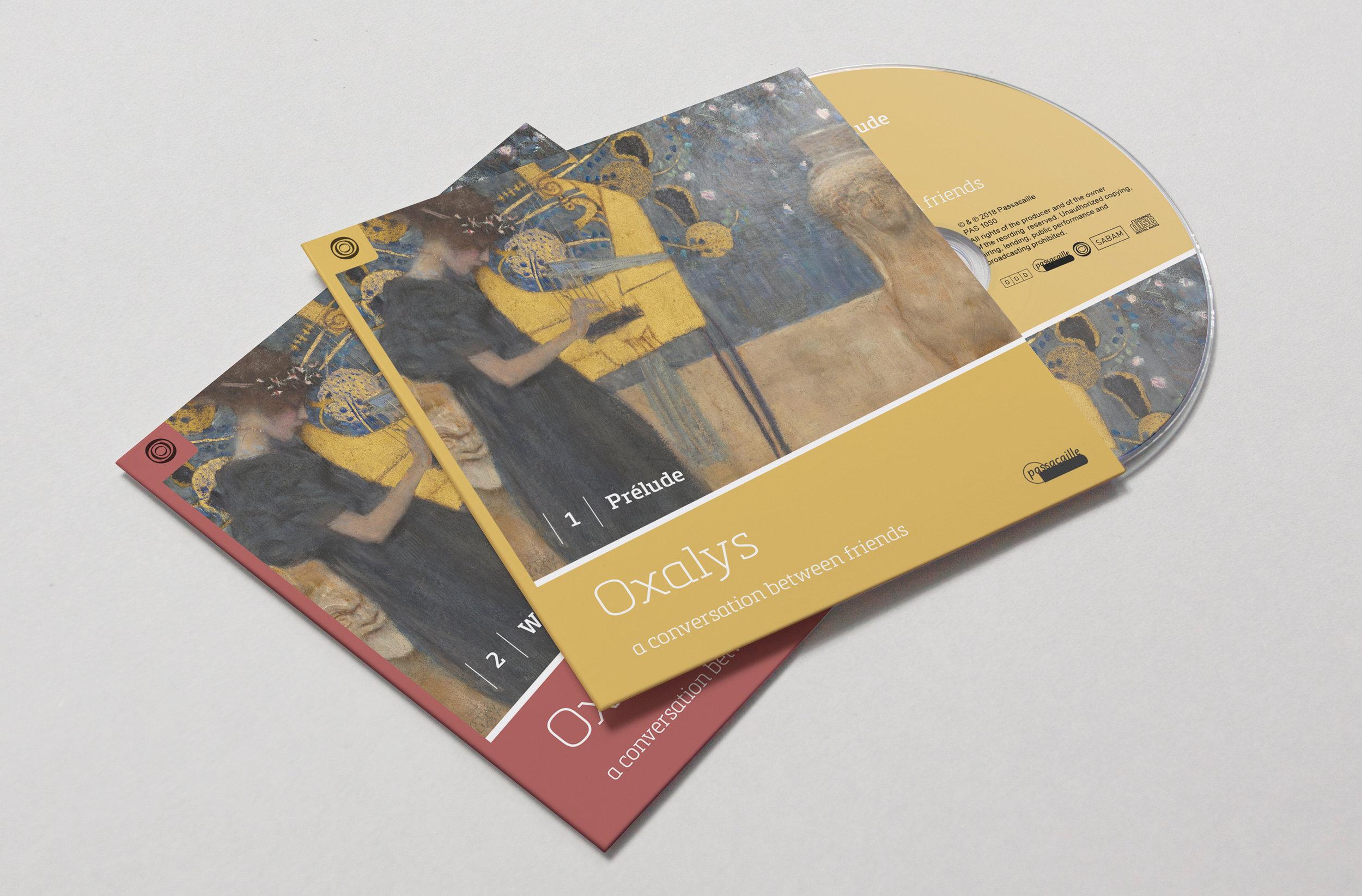 CD-hoesjes 'Oxalys 25 jaar'