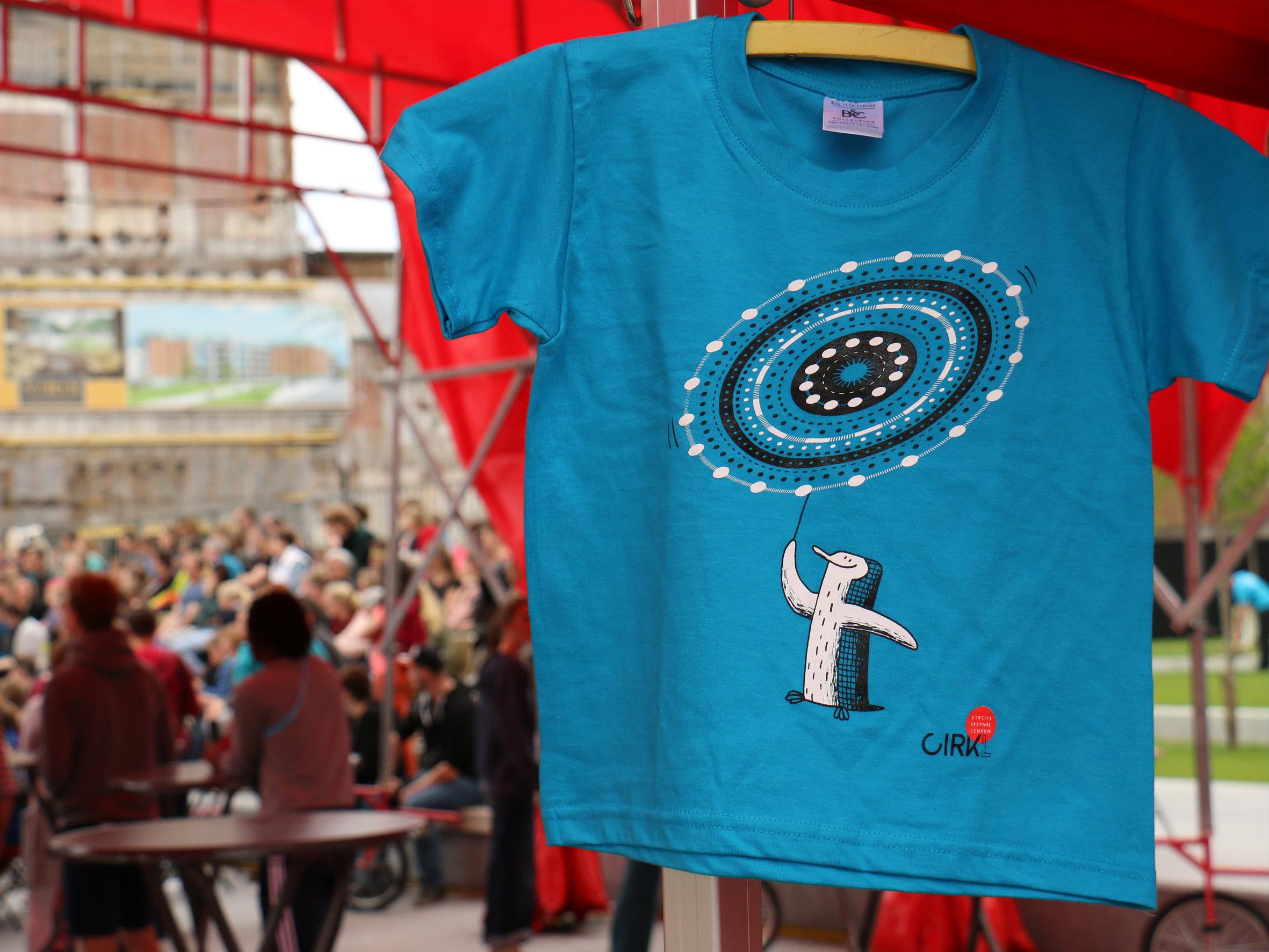 T-shirt voor Cirkl festival