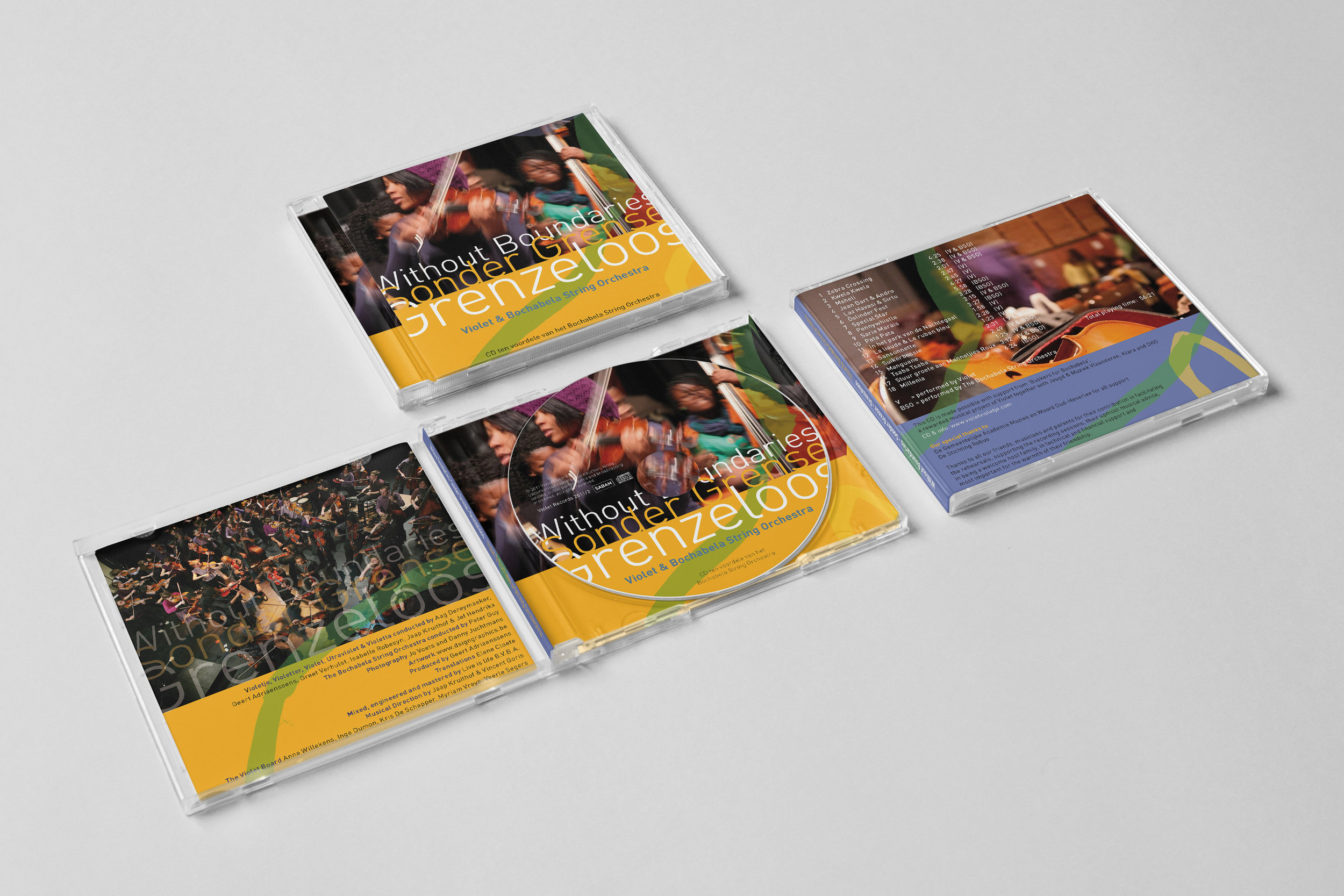 CD Genzeloos • Sonder Grense