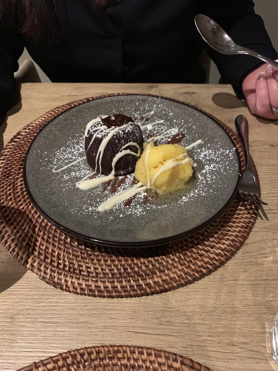 Barsley House Chocolate Melting Pudding.JPG