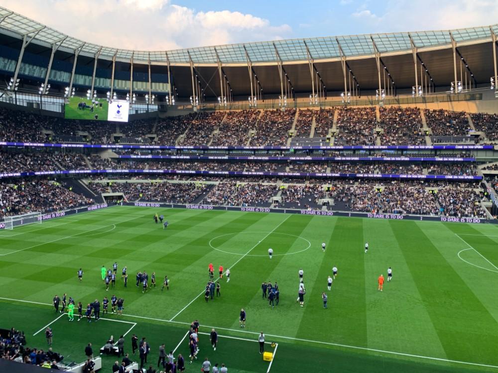 Tottenham Hotspure Legends game.jpg