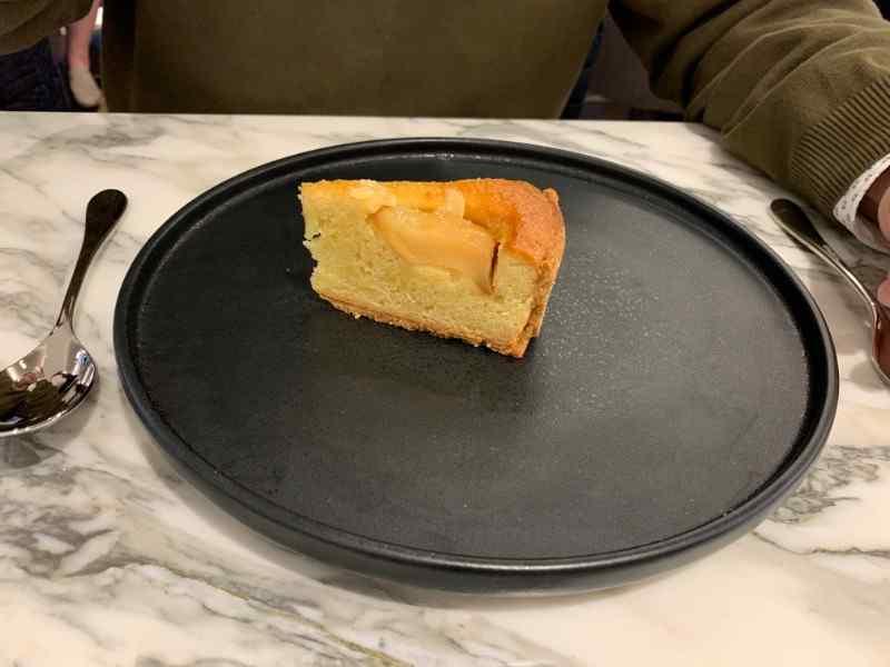 H Club Brasserie Pear tarte