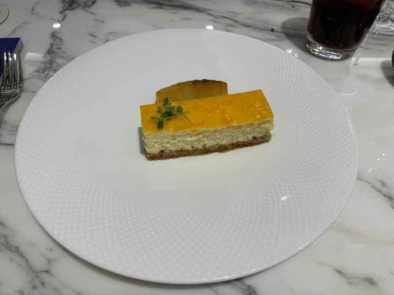 H Club Brasserie Vanilla Cheesecake