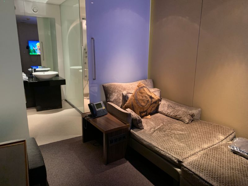 Cabana at British Airway Heathrow T5 Concorde Room VIP lounge